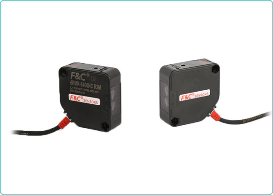 HR Series Long Range Square Photoelectric Sensors 10m Through-beam Reflective